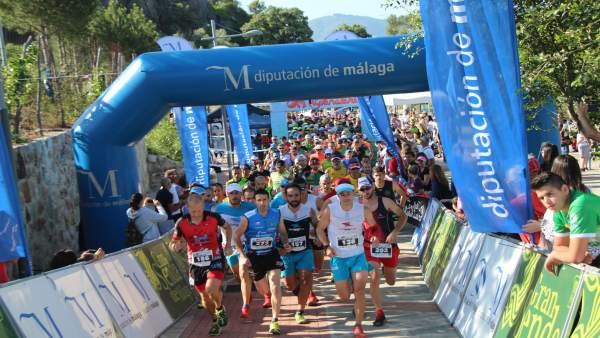 Maratón, deportistas, Málaga