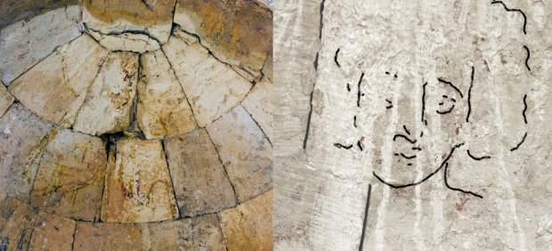 Descubren en Israel una representación de la cara de Jesús diferente a las habituales