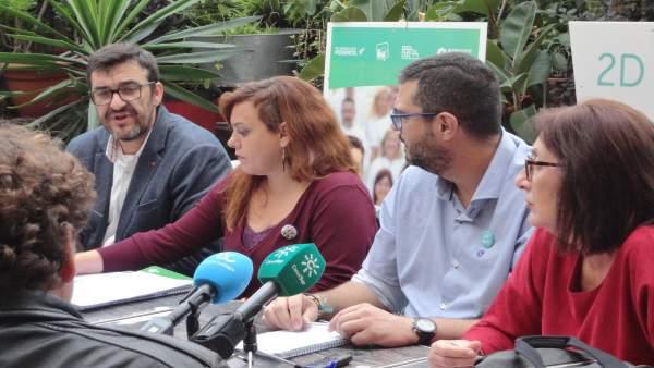Candidatos por Málaga de Adelante Andalucía