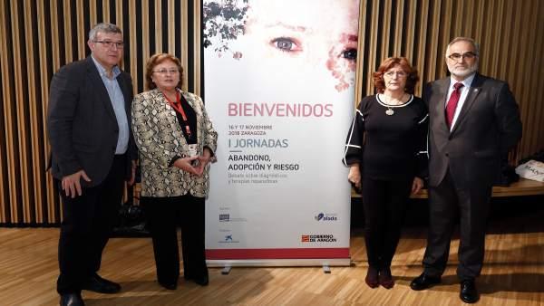 Inauguración de las I Jornadas 'Abandono, adopción y riesgo'