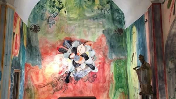 Pinturas de Santi Moix en Saurí