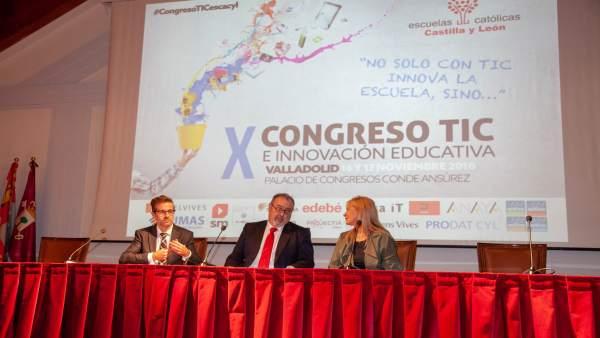 Congreso TIC de Escuelas Católicas.