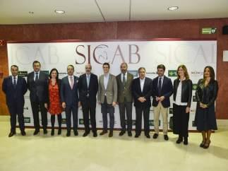 Visita de Pablo Casado al Sicab 2018.