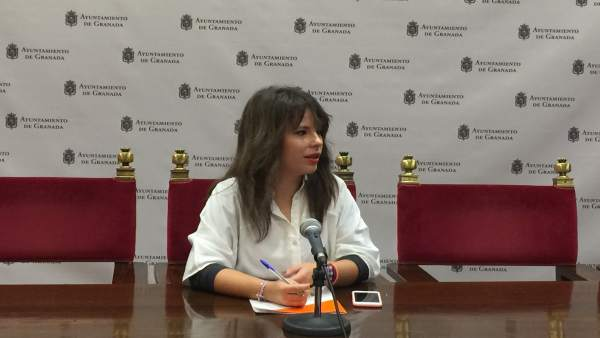 La concejal de Ciudadanos Lorena Rodríguez