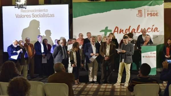 Acto del PSOE en Cádiz