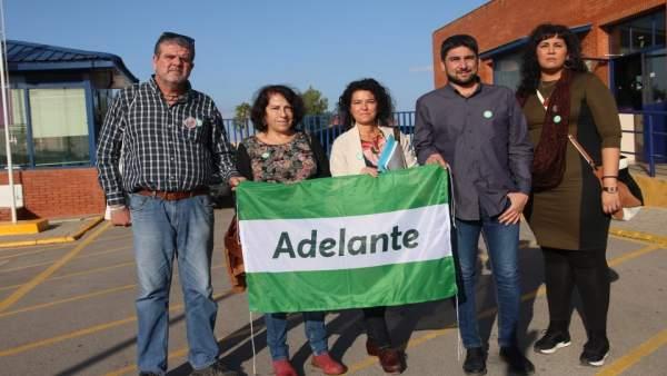Candidatos de Adelante Andalucía visitan Sevilla I