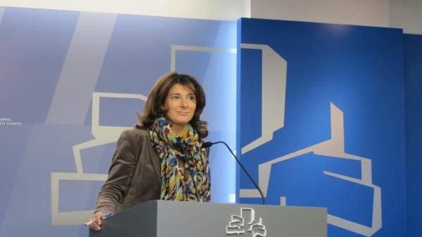 La parlamentaria del pp Laura Garrido