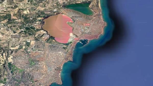 Localización de Torrevieja