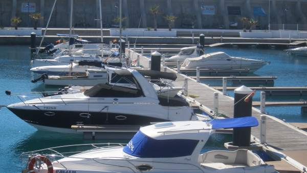 Barco, turismo, nautico, lujo, málaga, club, mediterráneo, atraque, costa
