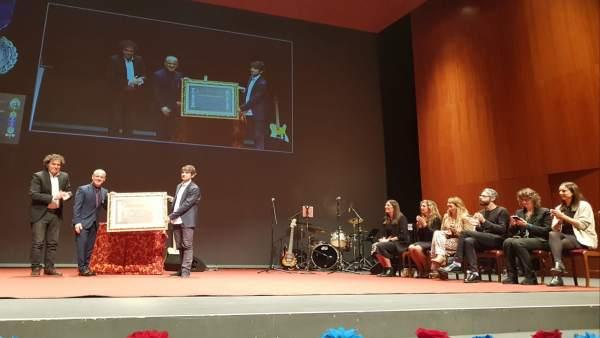Acto de homenaje a Javier Gutiérrez en Ferrol