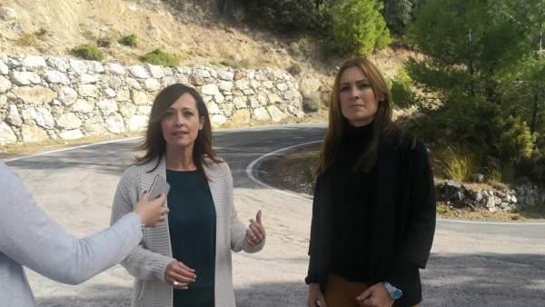 La candidata del PP por Jaén Maribel Lozano