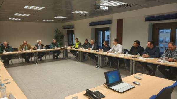 Reunión en la Delegación del Gobierno sobre las plantas fotovoltaicas
