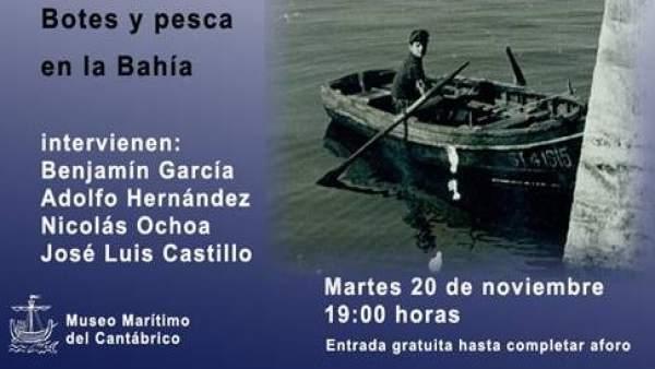Charla en el museo marítimo del Cantábrico