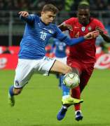 William Carvalho (Portugal) y Nicolo Barella (Italia).