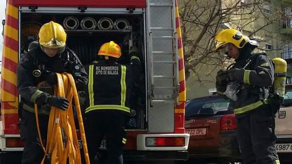 Efectivos de los bomberos de Málaga, Real Cuerpo de Bomberos de Málaga