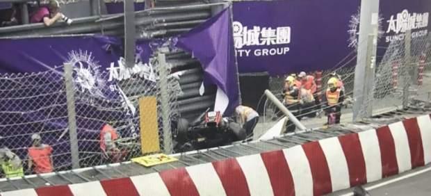 Espeluznante accidente de Sophia Flörsch en el GP de Macao de F3