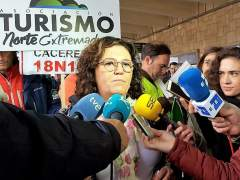 Patrocinio Sánchez, en la manifestación