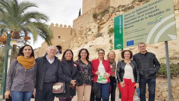 Acto del PSOE en Almería