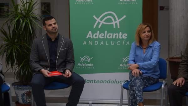 Carmen Lizárraga y Jesús Fernández