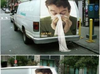 Siempre la nariz limpia