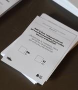 Pregunta del simulacro de referéndum de autodeterminación de Guipúzcoa