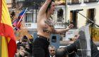 Femen boicotea un acto falangista
