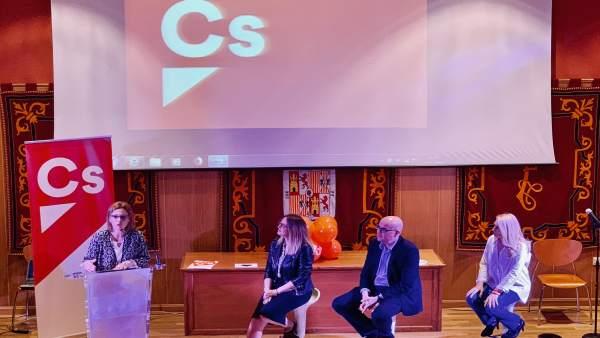 La candidata de Ciudadanos al Parlamento andaluz por Granada, Mar Sánchez