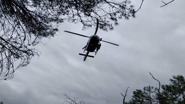 Rescate, helicóptero, Guardia Civil.