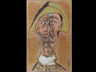 'Tête d'Arlequin' (Cabeza de Arlequín)