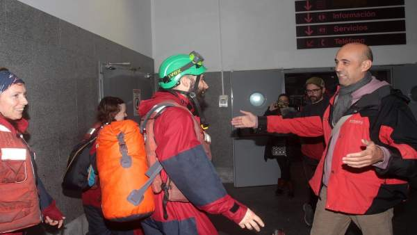 Liberación de activistas de Greenpeace