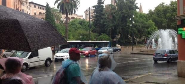 Predicción meteorológica para este lunes, 19 de noviembre, en Baleares: chubascos localmente ...
