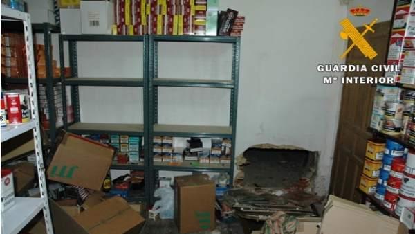 Una imagen de la Operación Serre desarrollada en Madrid y Valladolid