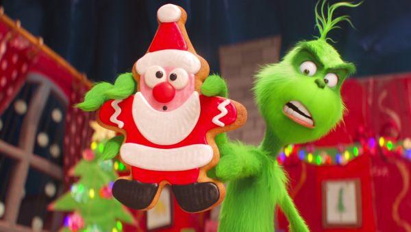 'El Grinch' no evita la tentación de la galleta navideña