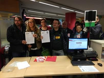 CC.OO. Y UGT de Catalunya registran la huelga para el 12 de diciembre