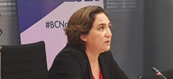 Ada Colau y Laura Pérez.