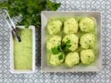 Albóndigas de bacalao en salsa verde