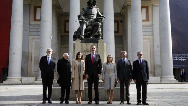 Los reyes, de visita en el Prado