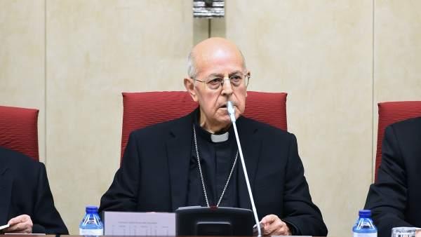 Ricardo Blázquez, presidente de la Conferencia Episcopal