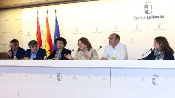 Consejera Bienestar Social, Aurelia Sánchez