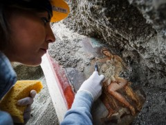 Nuevo fresco descubierto en Pompeya