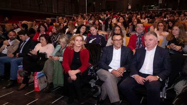 El presidente de la Diputación de Huelva, Ignacio Caraballo, en cita 'Intrépida'