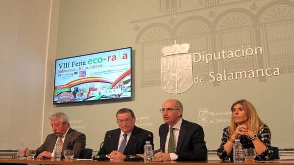 Salamanca.- Presentación de la Feria Ecoraya
