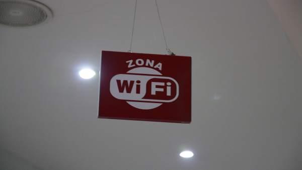 Imagen de archizo de una zona wifi