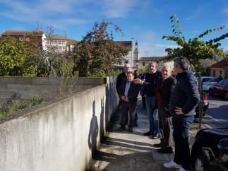Darío Campos Conde visita Pantón (Lugo)