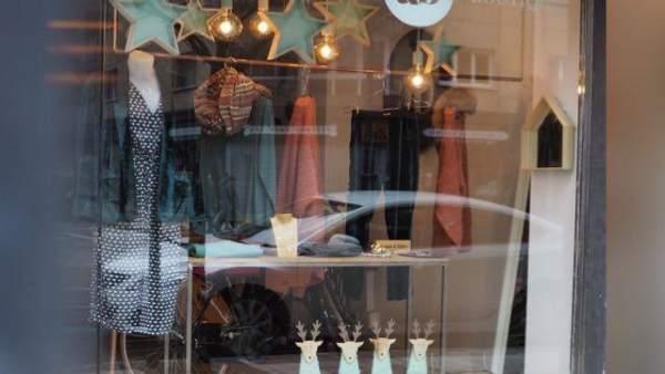 Tienda, comercio, ventas de Navidad, decoración de Navidad, AB Boutique