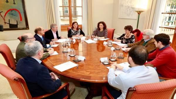 Reunión entre el Govern y el Cercle d'Economia