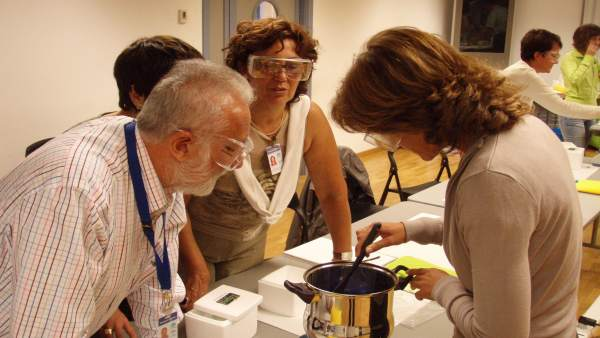 Curso de Cristalografía en Jerez