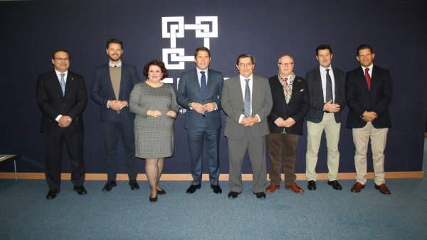 Reunión del PSOE con empresarios de cara al 2 de diciembre