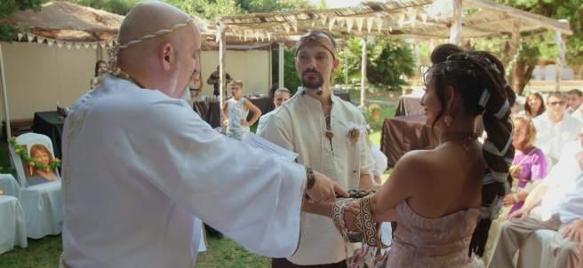 Boda celta-medieval, en 'Cuatro Weddings'.