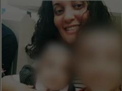 Captura de la mujer supuestamente asesinada por sus suegros en Brasil.
